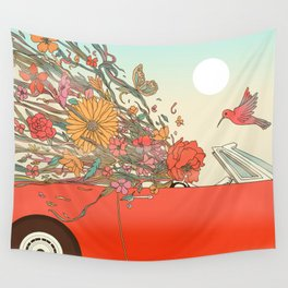Passing Existence Wall Tapestry