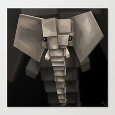 Elephant² Canvas Print