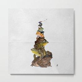 Toadstool (Wordless) Metal Print
