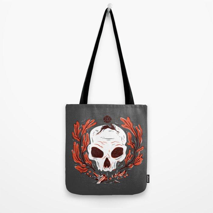 Symbol Skull Tote Bag