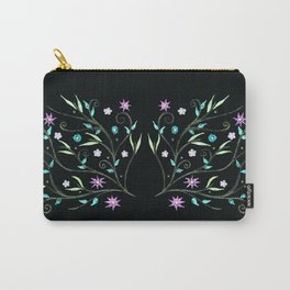 Flowering midnight Carry-All Pouch