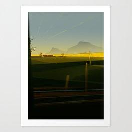 Train5 Art Print