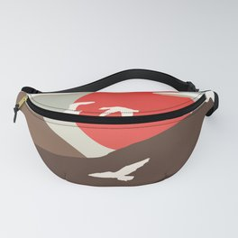 Swan Migration Fanny Pack
