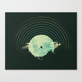 Soundtrack to a Peaceful Night Canvas Print