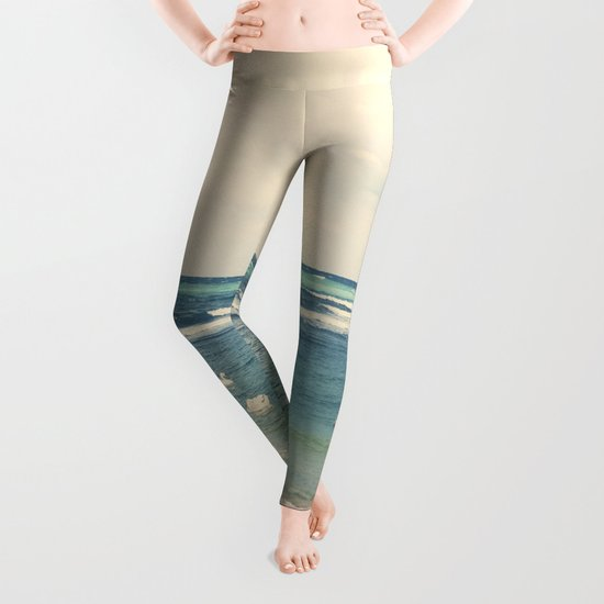 Swan Sea Leggings
