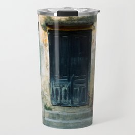 ANTIQUE CHINESE WALL of HOI AN in VIETNAM Travel Mug