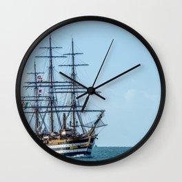 Amerigo Vespucci. Wall Clock