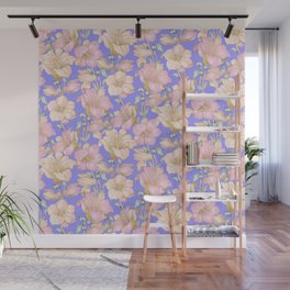tropical pastels Wall Mural