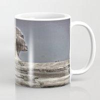 egypt Mugs featuring Egypt by Alex Alexandru