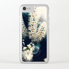 Sunlight On Laurel Blossoms Clear iPhone Case