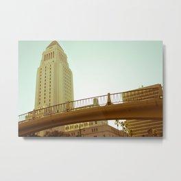 Bridge to City Hall (W3) Metal Print