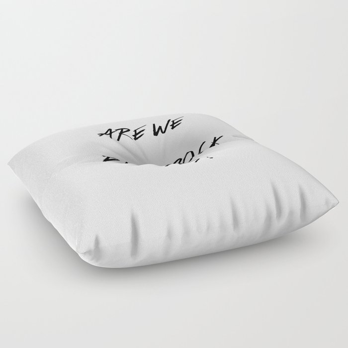 Rock Floor Pillows : Punk Rock Floor Pillow by beachavenue Society6
