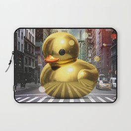 The Golden Rubber Duck Laptop Sleeve
