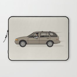 Mobile in the Shop Laptop Sleeve