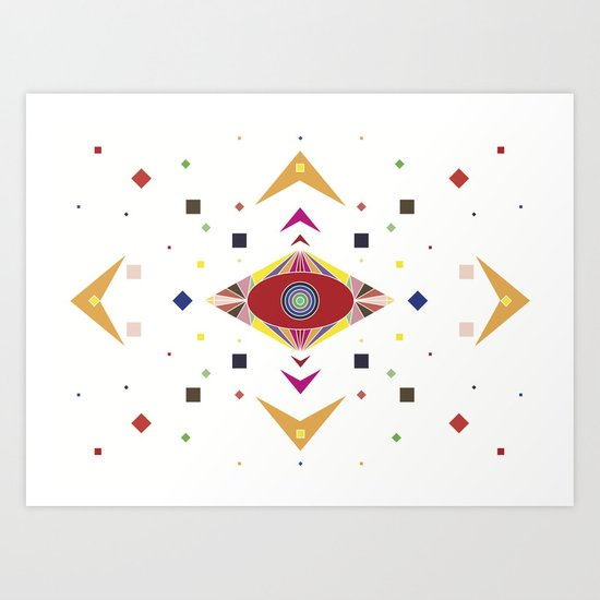 shape ones Art Print