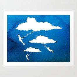 In Full Swing Art Print