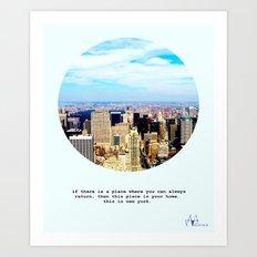 This is New York Art Print