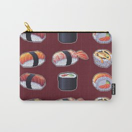 Sushi Pixel Art Carry-All Pouch