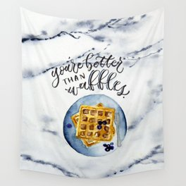 Waffle Love Wall Tapestry