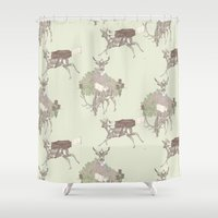 golf Shower Curtains featuring Golf by Ellie Price