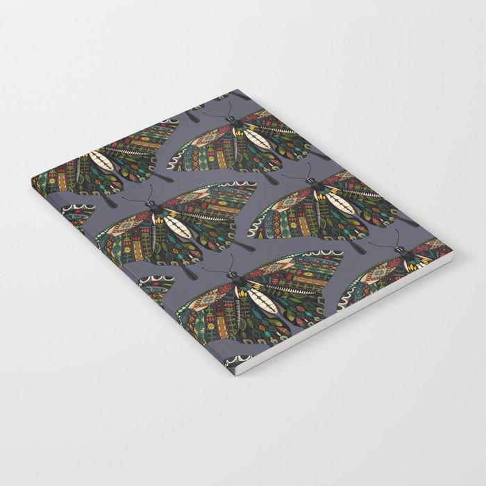 swallowtail butterfly dusk Notebook