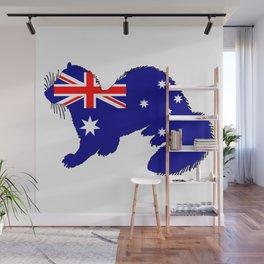 Australian Flag - Ferret Wall Mural