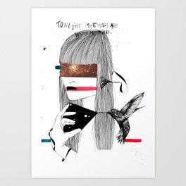 The Capture Art Print
