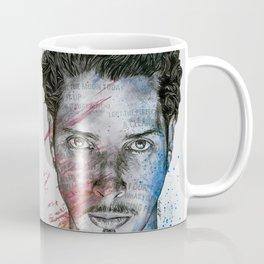 Pretty Noose: Red & Blue: Tribute to Chris Cornell Coffee Mug