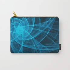 Tulles Star Computer Art in Blue Carry-All Pouch