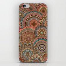 Mandala Mania-Vintage colors iPhone & iPod Skin