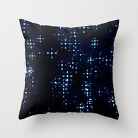 prism Throw Pillows featuring Prism by noirblanc777