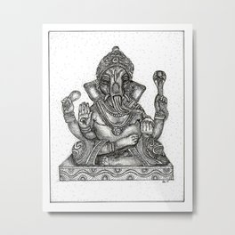 Remover of Obstacles Metal Print