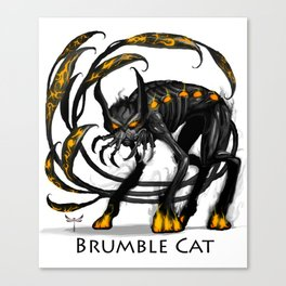 Brumble Cat Canvas Print