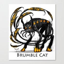Brumble Cat Canvas Print