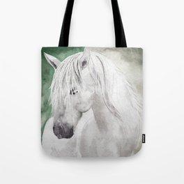 Cathy's white horse Umhängetasche
