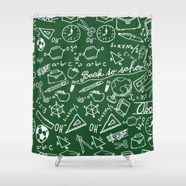 School teacher #8 Shower Curtain
