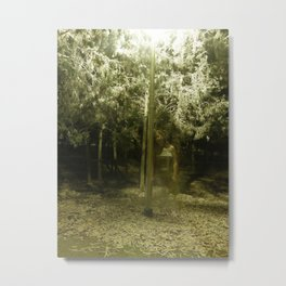 The Lamppost Metal Print