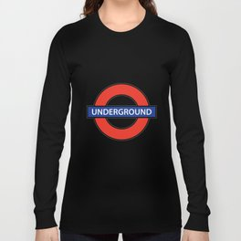 London Underground Long Sleeve T-shirt