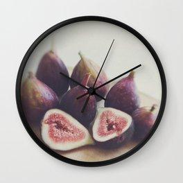 A Little Figgy Wall Clock