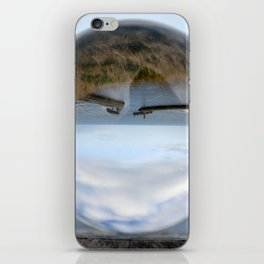 Whitby harbour iPhone Skin