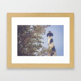 Cape Hatteras Lighthouse (1) Framed Art Print