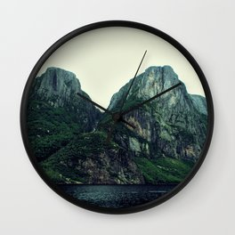 Roots of the Mountains Wall Clock