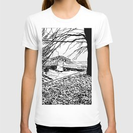 Et le jardin apparut  / And the garden appeared T-shirt