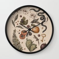 florida Wall Clocks featuring Florida Nature Walks by Jessica Roux
