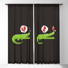 Alligator in Love Blackout Curtain