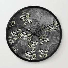Geared Up  Wall Clock