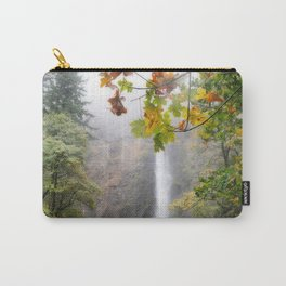 Autumn at Multnomah Falls Carry-All Pouch