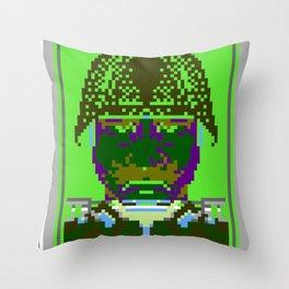 Kabuki Transmission Throw Pillow