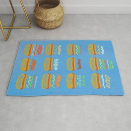 Hot Dogs! Re-do Rug