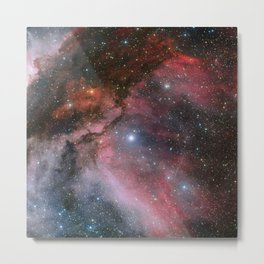 Carina Nebula Space Art Metal Print